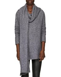 The Row - Merriah Cashmere-blend Scarf-neck Jumper - Lyst