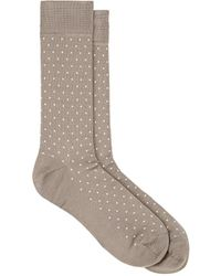 Paul Smith - Pin Dot Cotton-blend Mid - Lyst