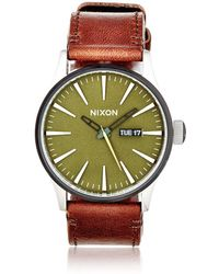 Nixon - Sentry Watch - Lyst