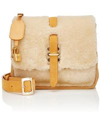 Fontana Milano 1915 - Busy Day Lady Shearling Small Messenger Bag - Lyst