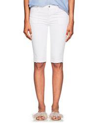 J Brand - 811 Bermuda Mid-rise Denim Shorts - Lyst