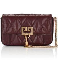 Givenchy - Pocket Mini Leather Crossbody Bag - Lyst