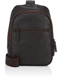 Barneys New York - Leather Sling Bag - Lyst