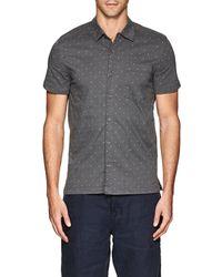 Blank NYC - Polka Dot Cotton Shirt - Lyst