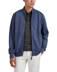 e112461e6 Cotton-blend Zip-front Jacket