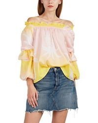 Cynthia Rowley - Pineapple-print Silk - Lyst