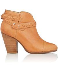 Rag & Bone - Harrow Leather Ankle Boots - Lyst
