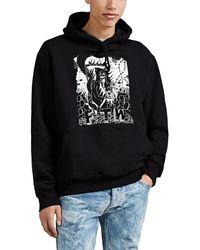 424 ftw Grim-reaper Cotton Terry Hoodie - Black