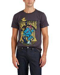 Zadig & Voltaire - Tex Ter Logo-cartoon Cotton T-shirt - Lyst