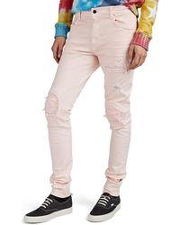 Amiri Mx1 Skinny Jeans - Pink