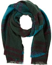 Barneys New York - Plaid Blanket Scarf - Lyst