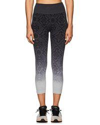 Electric Yoga - Geometric-pattern Jacquard Capri Leggings - Lyst