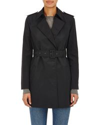 Barneys New York - Cotton-blend Belted Trench Coat - Lyst