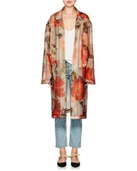 By. Bonnie Young - Lab Rose-print Mesh Jacket - Lyst