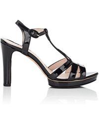 Repetto - bikini Patent Leather T-strap Platform Sandals - Lyst