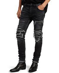 Amiri Mx1 Slim Jeans - Black