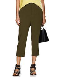 Rick Owens Astair Wool Drop-rise Pants - Green