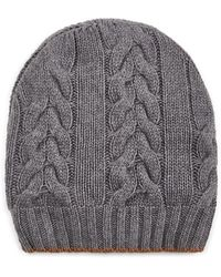 Barneys New York - Cable-stitched Wool Beanie - Lyst