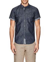 Blank NYC - Cotton Chambray Shirt - Lyst