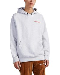 Palm Angels adios Cotton Hoodie - Gray