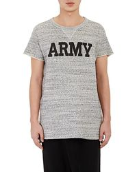 NLST - Army Short-sleeve Sweatshirt - Lyst