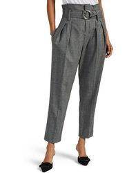 IRO Janezeta Wool Pants - Gray