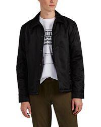Barneys New York Insulated Coach's Jacket - Black