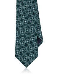 Barneys New York - Floral-print Silk Satin Necktie - Lyst