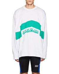 Martine Rose - napapijri Cotton Jersey T-shirt - Lyst