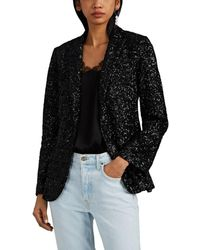 Zadig & Voltaire Virginie Sequined Blazer - Black