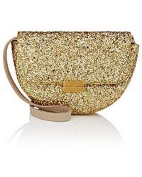 Wandler Anna Small Glitter Leather Belt Bag - Metallic