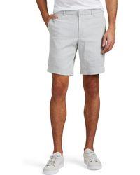 Barneys New York - Striped Cotton Seersucker Shorts - Lyst