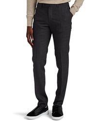 Incotex Mélange Wool Slim Pants - Gray