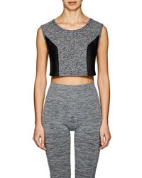 Live The Process - Geometric Jersey Crop Top - Lyst
