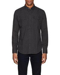 RRL - Suit-print Cotton Shirt - Lyst