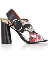 3.1 Phillip Lim - Patsy Floral Slingback Sandals - Lyst