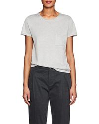 Barneys New York - Silk-cashmere Short-sleeve Sweater - Lyst