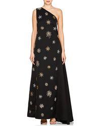 OSMAN - Orion Starburst-embellished Crepe Gown - Lyst