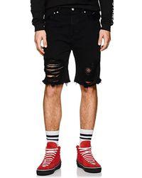 Stampd - Distressed Denim Shorts - Lyst