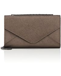Barneys New York - Hannah Leather Chain Wallet - Lyst