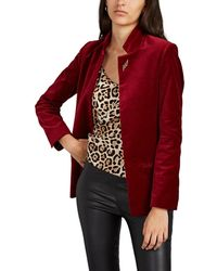 Zadig & Voltaire volly Velours Velvet Blazer - Red
