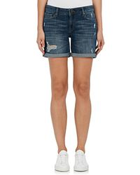 DL1961 - Karlie Denim Boyfriend Shorts - Lyst