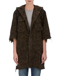 Icons - Austrian Camouflage Cotton Parka - Lyst