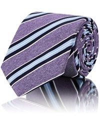 Barneys New York - Striped Silk Necktie - Lyst