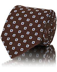 Bigi - Square-dot Silk Jacquard Necktie - Lyst
