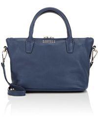 0cab9bff61ee Lyst - Dolce   Gabbana Monica Leather Shoulder Bag in Black