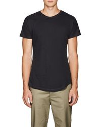 Chapter - Slub Cotton-blend T-shirt - Lyst
