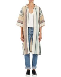 A Peace Treaty - Striped Cotton Hooded Cover - Lyst