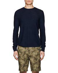 Piattelli - Waffle-knit Merino Wool Sweater - Lyst
