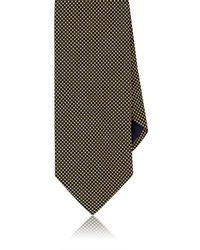 Barneys New York - Neat Silk Necktie - Lyst